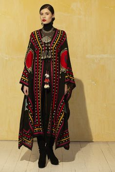 roja collection clothing | 415 – Ceremonial Robe Cover Up - Roja – Ann Tobias
