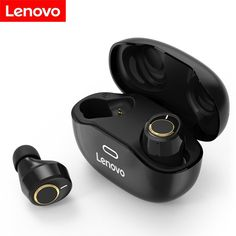 LENOVO X18 Bluetooth Earbuds 🚴♂️ True Wireless Sport Style Earphones | Bluetooth 5.0, Ipx4 Sweat resistant, 300mAh Charging case ⚡️ [20% OFF] #Chinavasion #Lenovo #earbuds #lenovoX18 #flashsale #Bluetooth Headphone With Mic, In Ear Headphones, Bluetooth Earbuds Wireless, Usb, Light Touch, Gaming Headset, Electronics, Led Color, Products