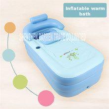 Zjmzym Spa Folding Portable For Adults Bathtub Inflatable