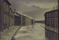 In an excellent film on BBC 4 last night, Visions of the Valleys, Kim Howells looked at how artists have responded to the natural splendour and industrial landscape of the Welsh valleys,. Gwen John, Art Society, Cymru, Urban Life, Art Uk, National Museum, South Wales, Your Paintings, Landscape Architecture