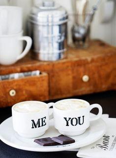 me & you & coffee <3