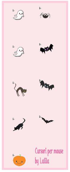 free halloween cursors cursore per il mouse a tema per halloween fmp cursor pinterest - Halloween Tumblr Cursors