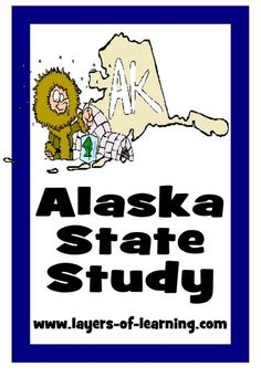 pg 6 Alaska State Study for kids.  Includes history, facts, activities, and a printable map.