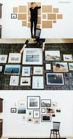 We're always looking for cheap and easy DIY wall decor ideas. A DIY gallery … Sponsored Sponsored We're always looking for cheap and easy DIY wall decor ideas. A DIY gallery wall is the perfect way to display your favorite… Continue Reading → Cheap Home Decor, Diy Home Decor, Room Decor, Cheap Wall Decor, Diy Wall Decorations, Black Wall Decor, Home Decor Wall Art, Diy Wand, Images Murales