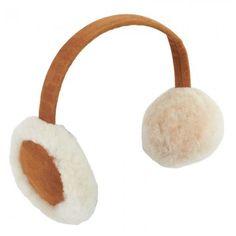 UGG Australia suede & sheepskin ear muffs #winter #essentials #bGstyle #babyGent.com