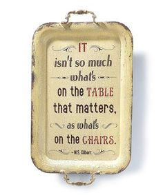 Another great find on #zulily! 'On the Chairs' Wall Sign by Jozie B #zulilyfinds