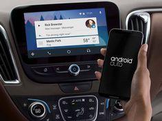 Facebook Messenger получил поддержку Android Auto