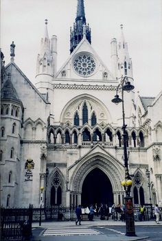 The Royal Courts of Justice, The Strand, London by Andrew Yong, Andrew Yong & Co. KL, http://ayckualalumpur.wix.com/andrewyongco