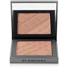 Burberry Beauty Warm Glow Bronzer - Warm Glow No.01 found on Polyvore featuring beauty products, makeup, cheek makeup, cheek bronzer, metallic and burberry