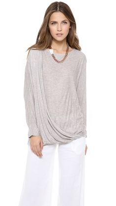 AIR by alice + olivia Draped Dolman Top $198.00