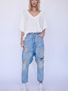 02f1bdba31ed Blazing Summer Harem Jeans. Love JeansJeans And BootsJeans StyleHarem  JeansTrousersDestroyed JeansRipped ...
