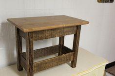 custom built cherry and oak table