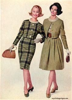 my vintage vogue (Simplicity Fall/Winter Vintage Vogue, Moda Vintage, Sixties Fashion, Retro Fashion, Vintage Fashion, Womens Fashion, Vintage Outfits, Vintage Dresses, 1960s Costumes
