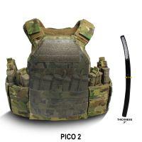 """PICO 2 will hold Cercom & Ceradyne® plate styles  (.5"""" thick)"""