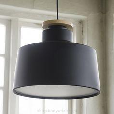 STREET M Czarna średnia - designerska lampa wisząca zaprojektowana i wyprodukowana przez CALABAZ - STREET M Black medium pendant by CALABAZ