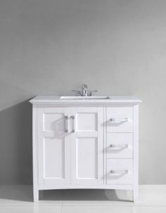 glenwood petite 18 inch wood white bathroom vanity. winston 36\ glenwood petite 18 inch wood white bathroom vanity