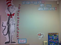 Dr. Seuss Classroom word wall | Dr. Seuss data tracking (sight words)