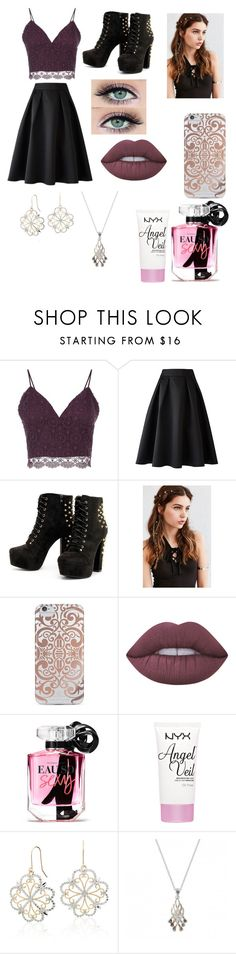 """""""Untitled #15"""" by ann574212 ❤ liked on Polyvore featuring Related, REGALROSE, Nanette Lepore, Lime Crime, Victoria's Secret, NYX and Blue Nile"""
