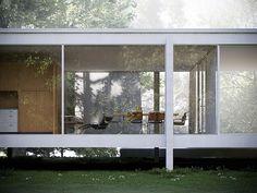 Farnsworth House, Ludwig Mies van der Rohe.