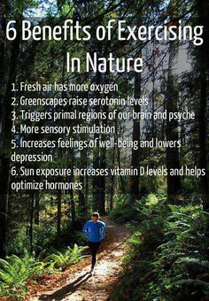 6 Benefits of Exercising outdoors!