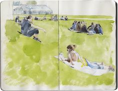 Drawing / watercolor by excellent Will Freeborn