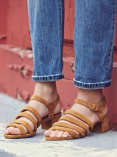 42b97dc022f0 Jeffrey Campbell x Free People Clementine Block Heel at Free People  Clothing Boutique