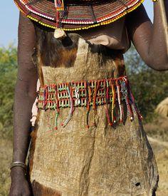 Africa | Details; Pokot woman.  Kenya | ©Rita Willaert