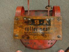 Mechanics Creeper seat - I love stuff with writing on it....
