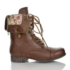 These fold over combat boots are currently at Body Central.. went ...