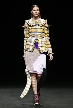 Fashion Show ODAXELAGNIA Womenswear Fall 18 by Anel Yaos at 080 Barcelona Fashion TNC 💊 Boots 👢 Eferro Accessories 💍 Fátima Beltrán 🔥 #AnelYaos #080barcelonafashion #odaxelagnia👄 #teatrenacionalcatalunya #Womenswear #Readytowear #art🎨 #artdirection #creativedirection #designer #women #creativefashion #styling #fashionshow #woman