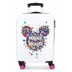 fad9e1fbb Maleta infantil Minnie Magic Corazones Cabina + Regalo Maletas Disney,  Juego De Maletas, Maleta