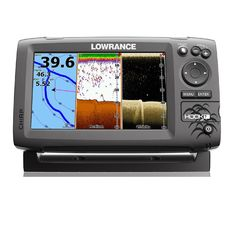 Lowrance 000-12664-002 Navico Hook 7 with Card & Cover Mid/High Down Scan,