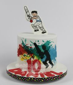 Cricket theme for Daniel's 10th Birthday - Cake by Suzanne Readman - Cakin' Faerie