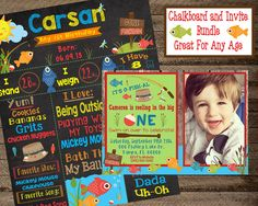 Hey, I found this really awesome Etsy listing at https://www.etsy.com/listing/468735155/fishing-chalkboard-boy-first-birthday