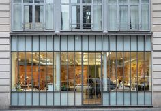 renzo piano building workshop studio visit paris designboom. the workshop viewed from rue des archives in paris' 4th arrondissement image © designboom