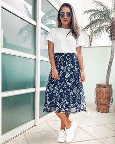 Cute Modest Outfits, Curvy Outfits, Skirt Outfits, Cool Outfits, Summer Outfits, Casual Outfits, Jw Mode, Modest Fashion, Fashion Dresses