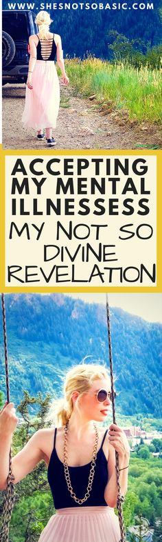 Mentally Ill - Not So Divine Revelation, i am mentally ill, mental illness, depressed, depression, depression recovery, self love, self care, learning to cope, coping with anxiety