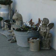 Gartenfiguren und Yogafrösche von www.duftoase.ch - Cleopatra's Duft-Oase Business Help, Garden Sculpture, Outdoor Decor, English Artists, Sculptures