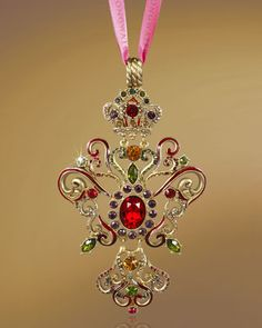 2012 Annual Christmas Ornament by Jay Strongwater