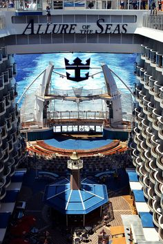 I want this for our next vacation!  Royal Caribbean Cruise, Allure of the Seas