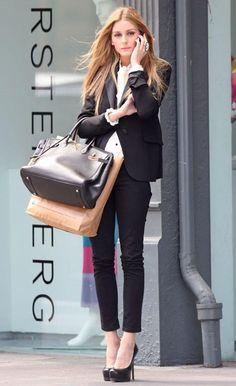 celebrity fashion | Celebrity Street Style: Olivia Palermo - Paperblog