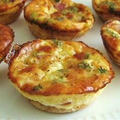 Mini-quiches faciles @ qc.allrecipes.ca