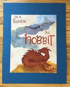 The Hobbit Lord of the Rings Kids Art Print by ErinSunshineKenna