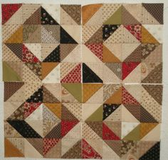 fall quilt idea; like the colors