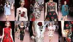 Image result for dolce and gabbana winter women 2016