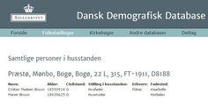 C(h)risten Madsen Bruun (se tidligere post) omtales som formand for Harboøre-fiskerne på og omkring Bogø. Opslaget fra Folketællingen 1911 viser, at han boede på matrikel nr.22L på Bogø (hjørnet af Skåningevej og Hougaardsbanke). Hans kones fødeår, 1863, afviger fra det på bagsiden af fotografiet på Det Kongelige Bibliotek. I Folketællingen 1901 er hans erhverv  vodfisker. Hans fødested angives som Harboøre. Det er en fejl, når fødested i 1911-tællingen er ang. som Haarbølle.