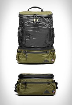 Previously only available in Japan, Datum Outdoor is now available in the US. Inspired by an outdoor heritage, the Datum bags are designed for everyday travel and commuting. All made in the US with YKK water-resistant zippers along with rugged 500D C