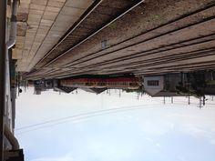 小湊鉄道。パンタグラフがないのはディーゼル車だから。
