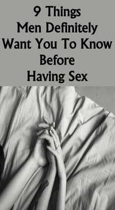 advice for having sex