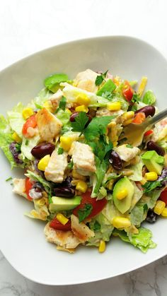 Salad Recipes, Diet Recipes, Cooking Recipes, Healthy Recipes, Slow Food, Vegetable Salad, Tasty Dishes, Food And Drink, Healthy Eating